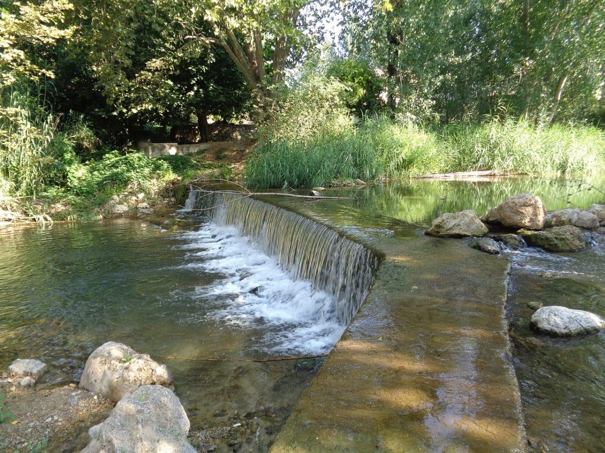 Las presas y azudes intervienen en el normal funcionamiento de los ríos