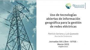 QElectricGIS en las Jornadas de SIG Libre de Girona 2021