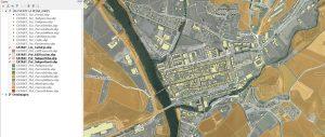 plugin QGIS para descargar cartografía catastral de Navarra