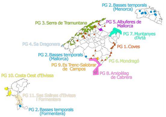 Planes de Gestión de Red Natura 200 en las Islas Baleares