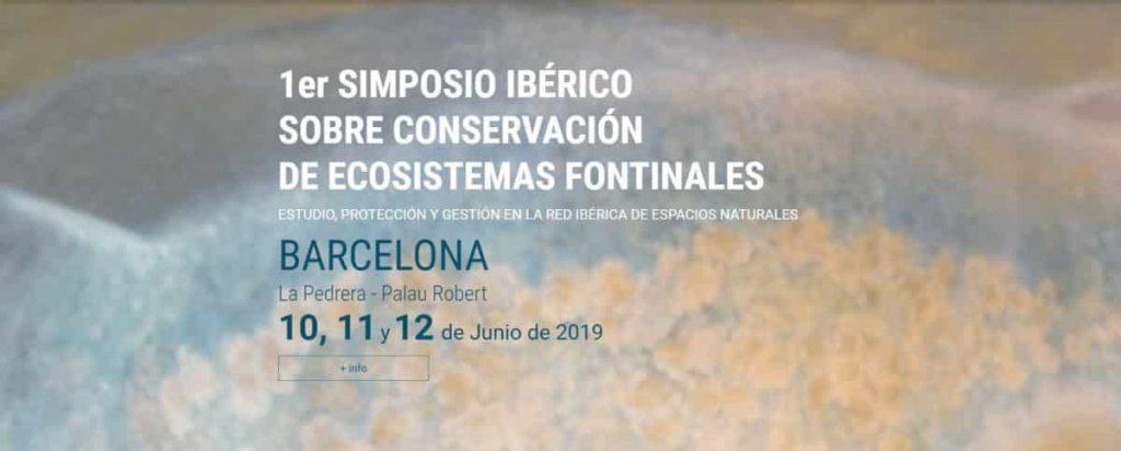 Primer Simposio ibérico sobre conservación de ecosistemas fontinales