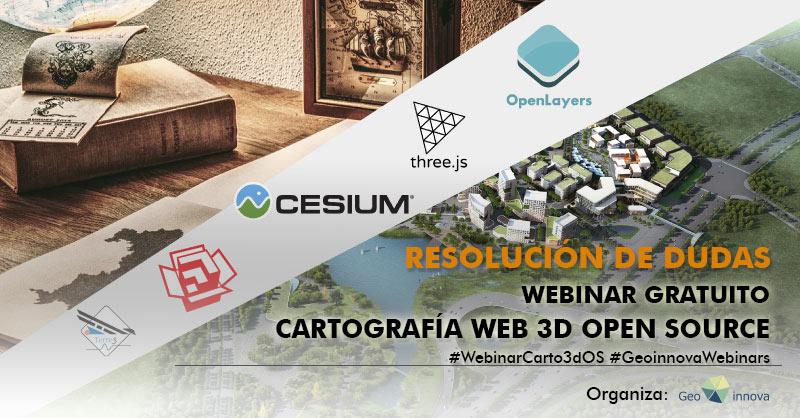 Resolución dudas webinar Cartografía 3d open source
