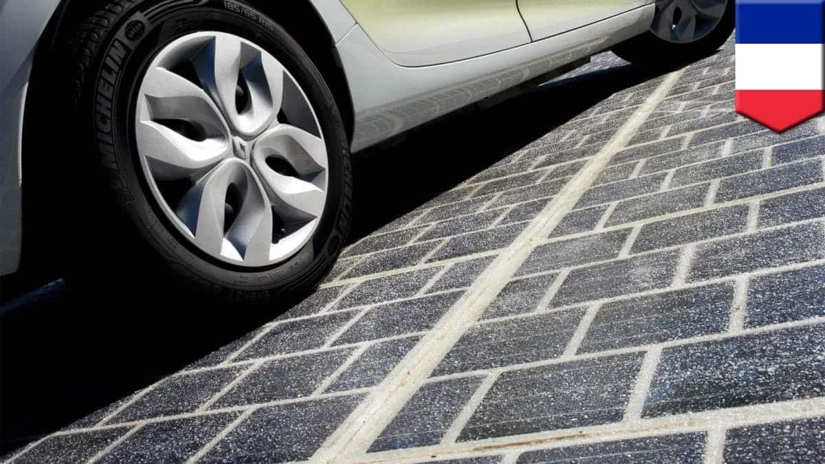 Carreteras solares en Francia