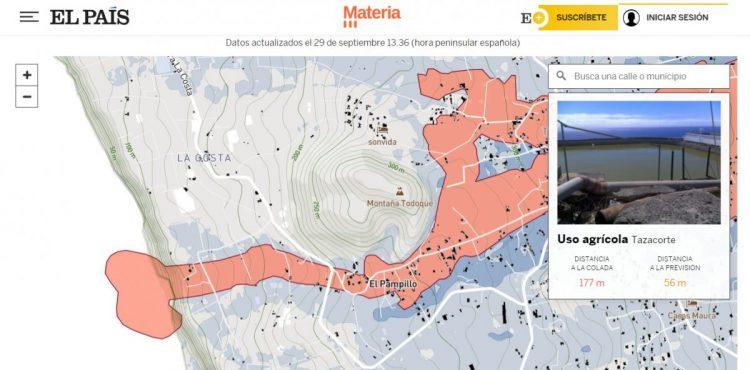 Mapa en El País